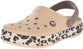 Crocs Unisex Crocband Leopard Clog Mule