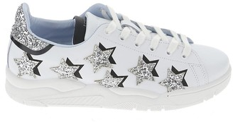 Chiara Ferragni Glittered Star Sneakers