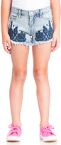 Blank NYC BLANKNYC Embroidered Cut Off Short