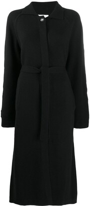 Barrie Belted Midi Coat