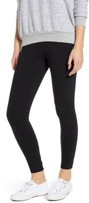 Lysse Del Mar High Waist Cutout Stretch Cotton Leggings