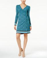 MICHAEL Michael Kors Stingray-Print Wrap Dress