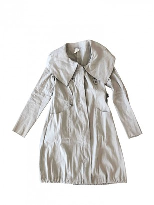 Non Signã© / Unsigned Silver Linen Trench coats