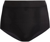 Wolford Netstation Stretch-mesh And Jersey Control Briefs - Black