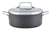 Anolon 5QT. Authority Hard-Anodized Non-Stick Covered Dutch Oven