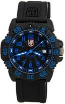 Luminox 3053.NEWBLUE Men's Sea Navy Seal Colormark 3050 Black Dial Rubber Strap Dive Watch