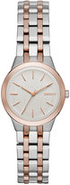 DKNY Women's Park Slope Two-Tone Stainless Steel Bracelet Watch 28mm NY2493