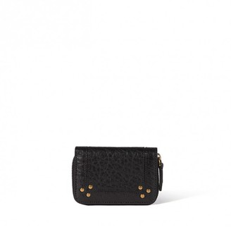 Jerome Dreyfuss Henri Wallet in Noir Bubble Lambskin