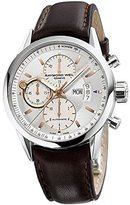 Raymond Weil Men's 'Freelancer' Swiss Automatic Stainless Steel and Leather Dress Watch, Color:Silver-Toned (Model: 7730-STC-65025)