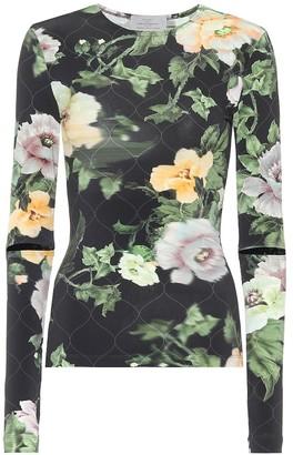 Preen by Thornton Bregazzi Xandrai floral stretch-crepe top