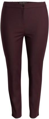 Marina Rinaldi, Plus Size Stretch Slim-Leg Pants