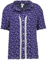 Cosabella MARGAUX Pyjama top navy blue/white