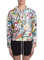 Jeremy Scott Hooded Sweatshirt With Zip