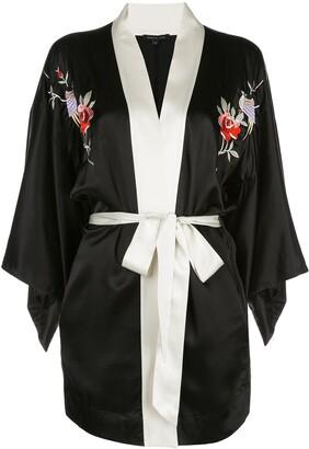 Morgan Lane Nia embroidered robe
