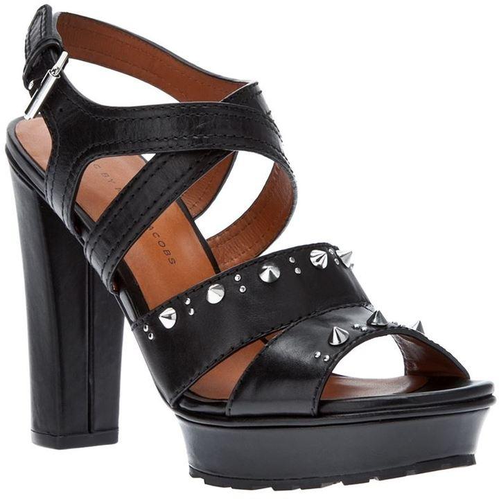 Marc by Marc Jacobs studded platform sandal