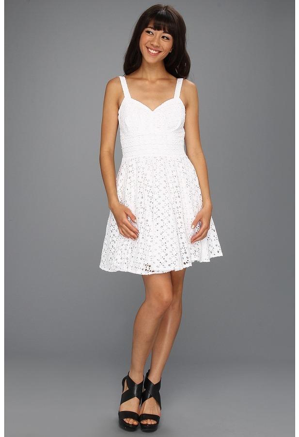 BB Dakota Tibet Dress (Optic White) - Apparel