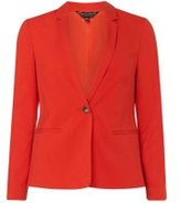 Dorothy Perkins Womens Red Suit Jacket- Red