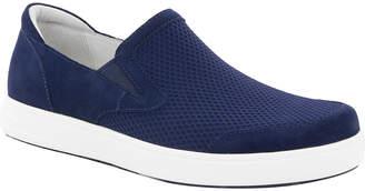 Alegria Men's Sandals NAVY - Navy Suede Bender Slip-On Sneaker - Men