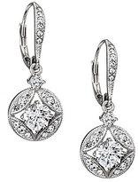 Nadri Clear Cubic Zirconia Drop Earrings
