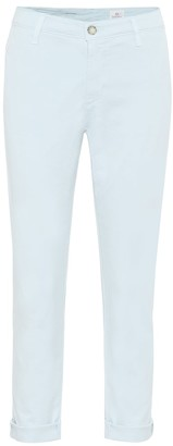 AG Jeans Caden Chino mid-rise straight jeans