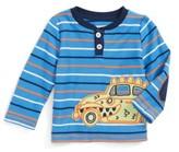 Hatley Infant Boy's Applique Henley T-Shirt