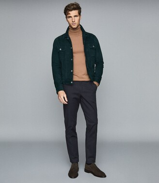Reiss Eastbury Reg - Regular Fit Chinos in Navy