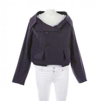 Jil Sander Purple Synthetic Jackets
