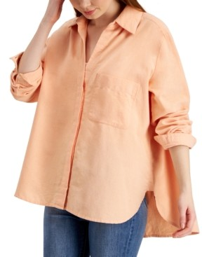French Connection Siti Cotton Oxford Shirt