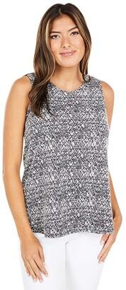 Nic+Zoe Cityside Tank (Grey Multi) Women's Clothing