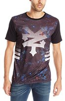 Zoo York Men's Short Sleeve Nebula Crew Knit Top