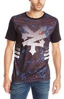 Zoo York Men's Short Sleeve Nebula Crew Knit Top