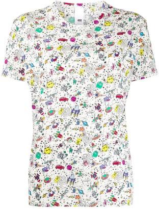 Ultràchic space print T-shirt