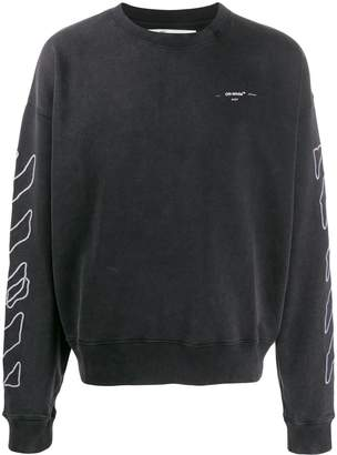 Off-White Off White scribble Arrows sweatshirt