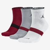Nike Jordan Dri-FIT Low Quarter Socks (3 Pair)