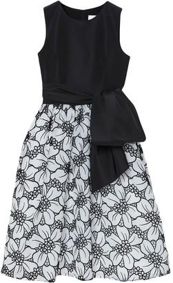Carolina Herrera floral-organza A-line dress