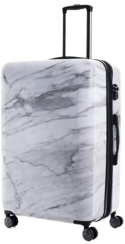 CalPak Astyll 3-Piece Marbled Luggage Set - Black