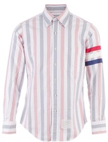 Thom Browne faded stripe shirt