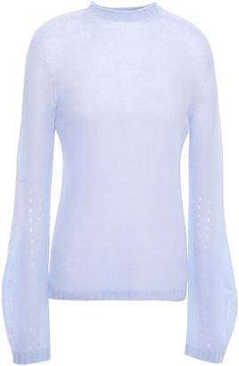Giorgio Armani Open-knit Cashmere Sweater