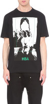 Hood by Air Face print cotton t-shirt