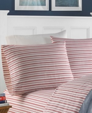 Nautica Coleridge Stripe Sheet Set, Twin Xl Bedding