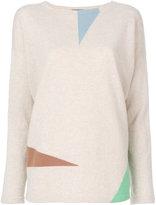 Cividini geometric intarsia jumper - women - Cashmere - 42