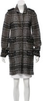 Chanel Metallic Plaid Coat