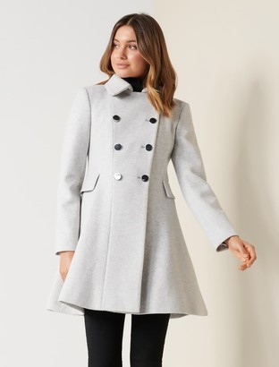 Ever New Louise Fit and Flare Coat