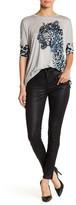 Karen Millen Coated & Jersey Front Jean