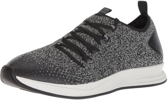 Under Armour Men's Charged Covert Knit Sneaker Black (001)/Steel 11.5