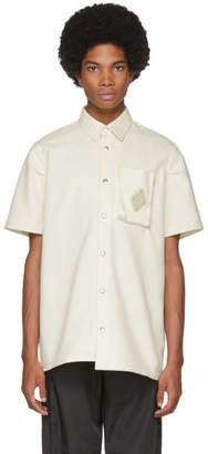 A-Cold-Wall* Off-White Short Sleeve Pocket Shirt