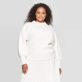 Ava & Viv Women's Plus Size Turtleneck Pullover Sweater - Ava & VivTM