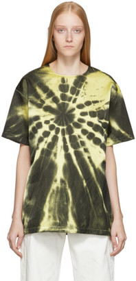 Maison Margiela Yellow Tie-Dye T-Shirt