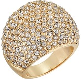 GUESS Pave Dome Ring
