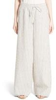 Lafayette 148 New York Women's Drawstring Linen Pants